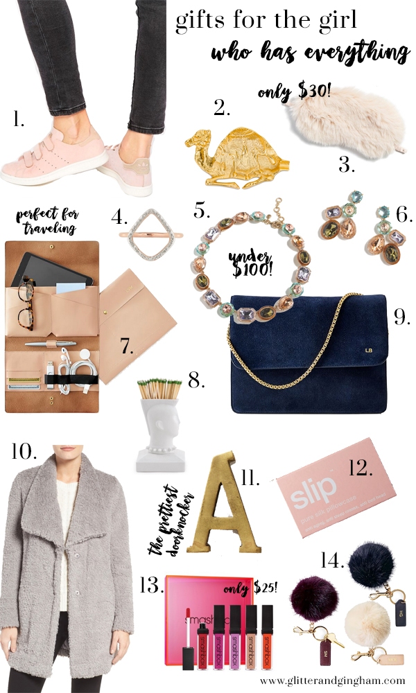 Gifts for the girl who has everything - Glitter & Gingham